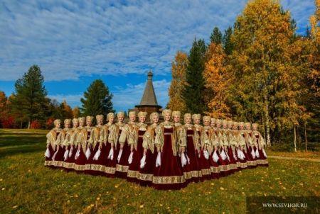 Северный русский народный хор. Тольяттинская филармония