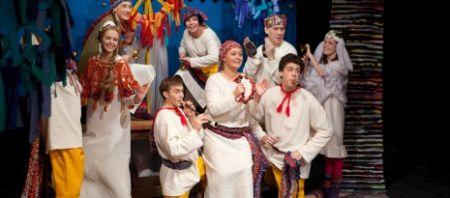 СКАЗКА О ЦАРЕ САЛТАНЕ. Новосибирский театр под руководством Сергея Афанасьева