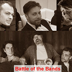 Battle of the Bands: Django Friends VS Folkline. Джаз-клуб «Союз Композиторов»