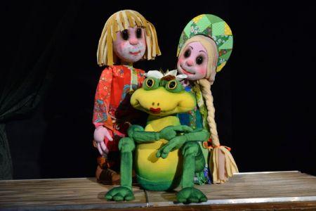 Царевна-лягушка. Курский театр кукол