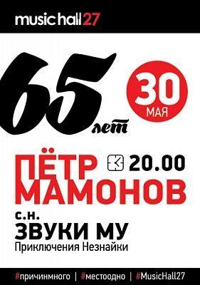 Концерт Петра Мамонова