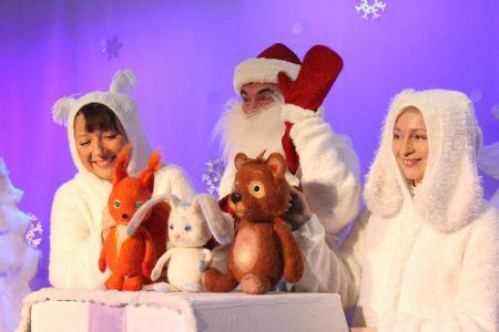 Что такое Новый Год. Башкирский театр кукол