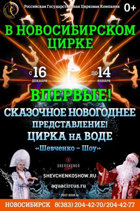 Новый Цирк на воде! Новосибирский цирк