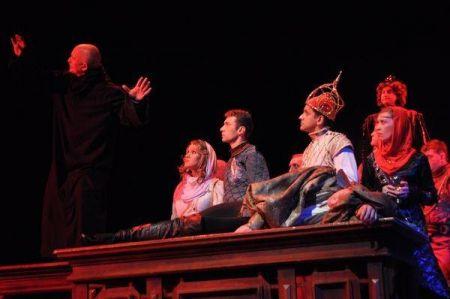 вистава Гамлет. (Вільям Шекспір) в Луцьку 26 лютого