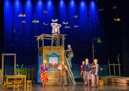 Любовь и голуби. Театр «Колесо»