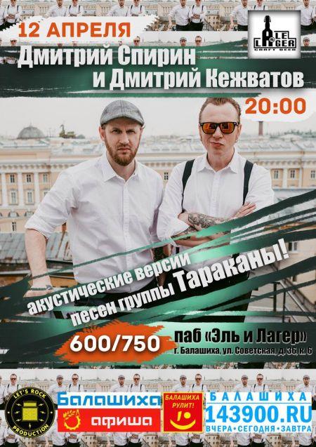 Концерт Дмитрия Спирина и Дмитрия Кежватова в Балашихе