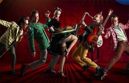 Группа «Стиляги Band». Джаз-клуб «Союз Композиторов»