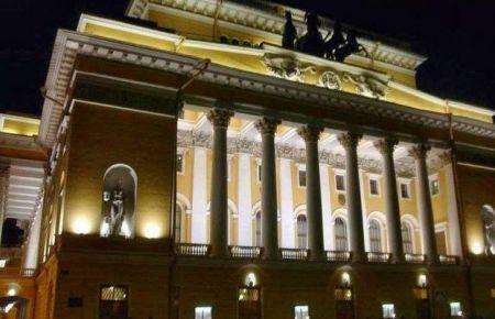 Спектакль ЭКСПОНАТ/ПРОБУЖДЕНИЕ/. Александринский театр