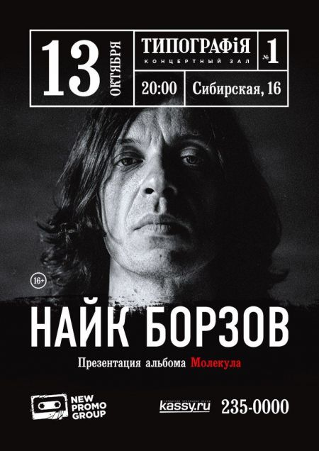 Концерт Найка Борзова