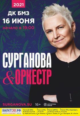 Концерт группы Сурганова и Оркестр в г. Брянск