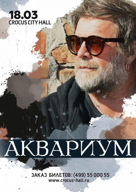 Б. Гребенщиков и группа Аквариум в Москве