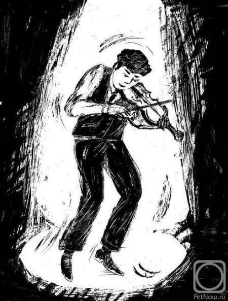 Танцующий скрипач. Оренбургская филармония