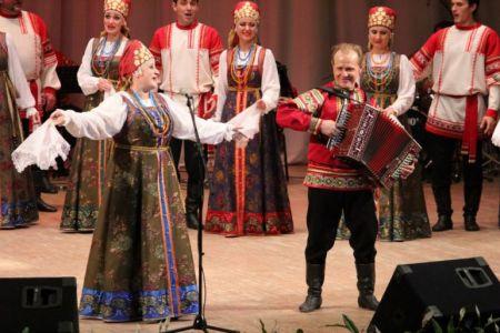 Рязанский народный хор им. Е.Попова. Рязанская филармония