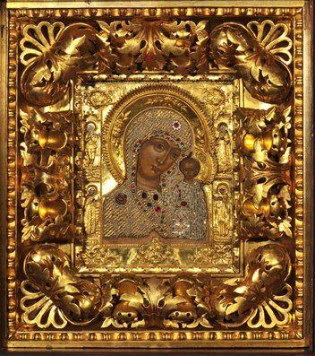 Ветковские иконы XVIII-XIX вв. в шитых бисерных окладах