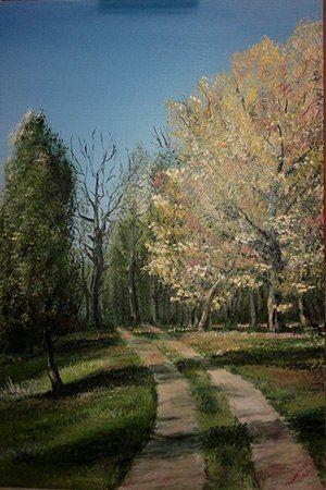 Выставка живописи Татьяны Поведайло «Ищу в тебе я вдохновенье» (12 июля - 2 сентября)