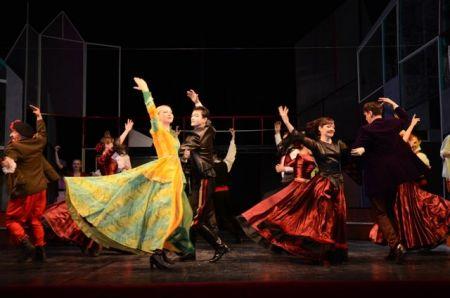 Спетакль РАБА СВОЕГО ВОЗЛЮБЛЕННОГО в Оренбургсокм драматическом театре