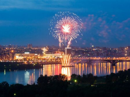 День города в Красноярске 2021. Праздничные события