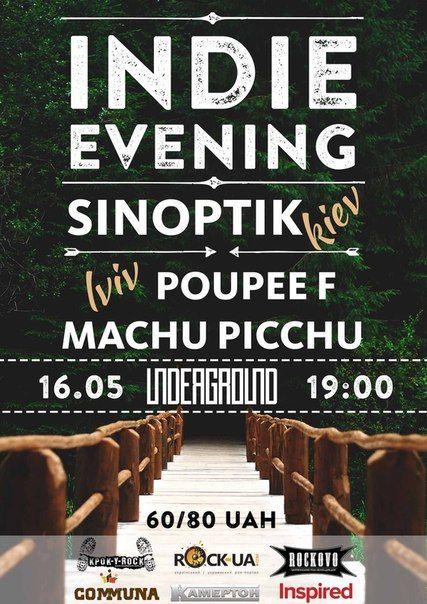 Lviv Indie Evening у клубі UNDERGROUND