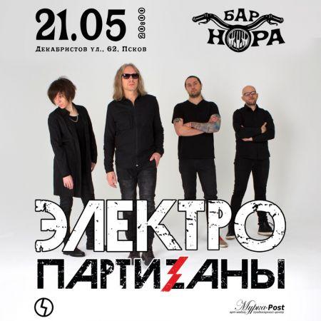 Концерт группы ЭлектропартиZаны в г. Псков