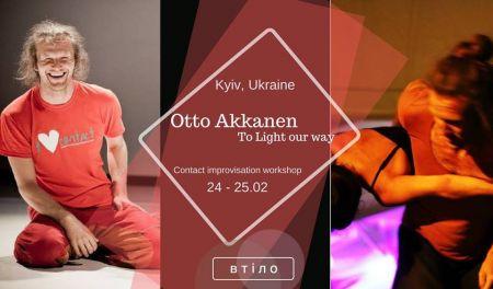 Contact Improvisation with Otto Akkanen