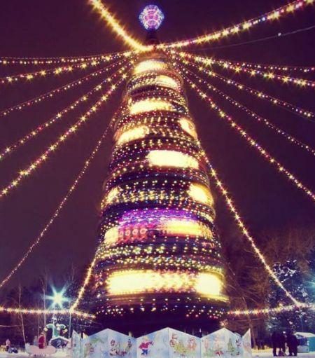 Елка 2014 в Волгограде и полная программа новогодних мероприятий.