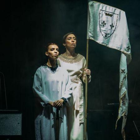 """Легенда о Жанне Д""""Арк. Театр Эстрады им. Аркадия Райкина"""