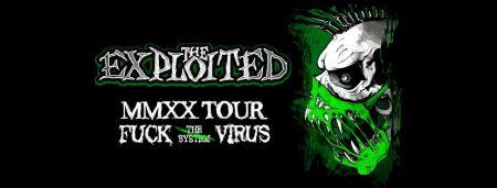 Концерт группы The Exploited в г. Уфа