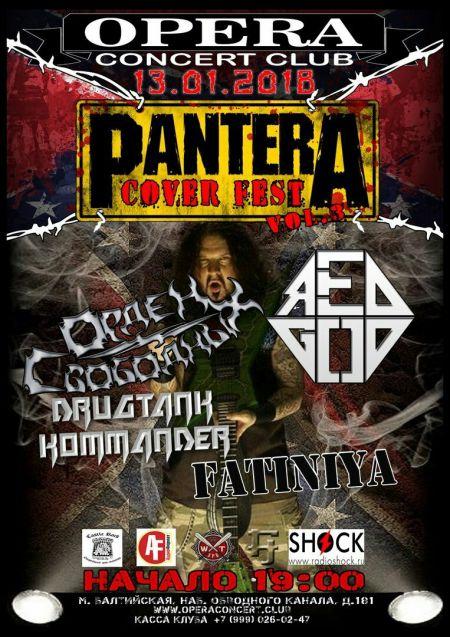 Pantera Cover-fest 2018