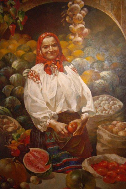 Виставка живопису українських художників 70-х–2000-х рр. «ВРОЖАЙ»