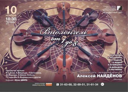 ВИОЛОНЧЕЛЬ. От 1 до 8. Хабаровская краевая филармония