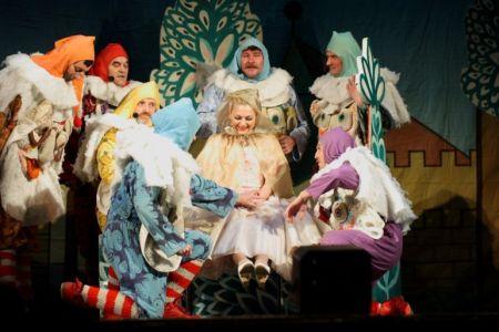 Спектакль «Белоснежка и семь гномов»