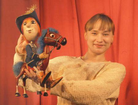 Прыгающая принцесса. Курский театр кукол