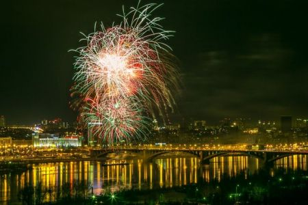 День города в Красноярске 2018. Праздничные мероприятия