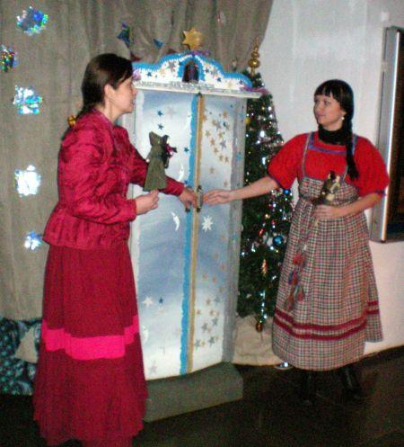 Рождественские каникулы в музее,каргополь