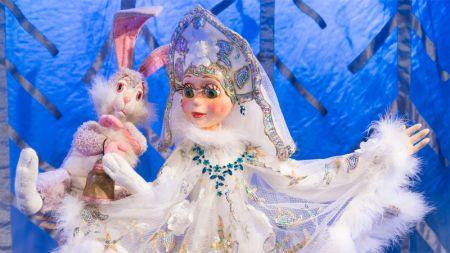 Новогодняя сказка и Дед Мороз. Детский Сказочный театр