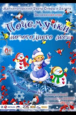 Почемучки новогоднего леса. Магнитогорский театр оперы и балета