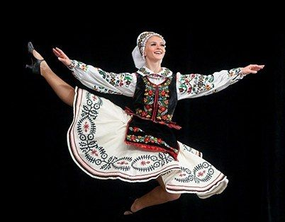 Концерт ансамбля танца им. Павла Вирского в г. Черновцы. 2015