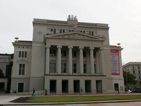 Валькирияа. Латвийская Национальная опера. Афиша
