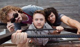 """Концерт Jukebox Trio. Клуб """"Зал Ожидания"""""""