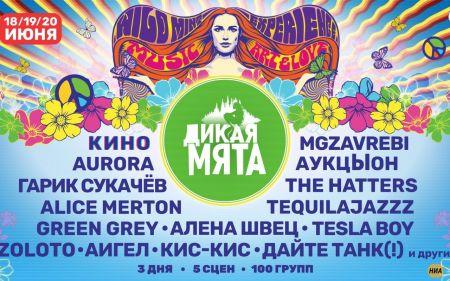 Фестиваль Дикая Мята 2021