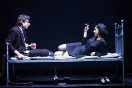 Враги, история любви,афища,репертуар,куда пойти,Театр Гешер.