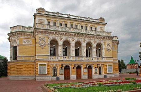 Спектакль Три романса о любви. Нижегородский государственный академический театр драмы