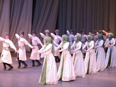 Фольклорный ансамбль «Нохчо». Московская филармония