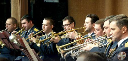 Военный оркестр. Новосибирская филармония
