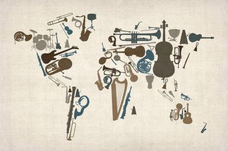 Музыкальная карта мира. Московская консерватория