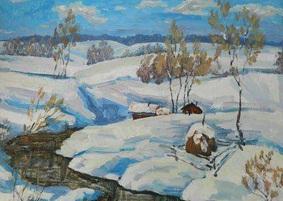 выставка живописи Валентина Пархоменко