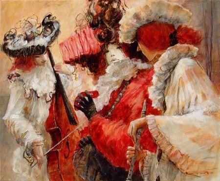 Карнавал венецианских масок