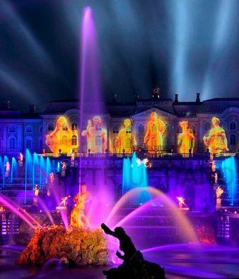 Закрытие фонтанов в Петергофе 2020
