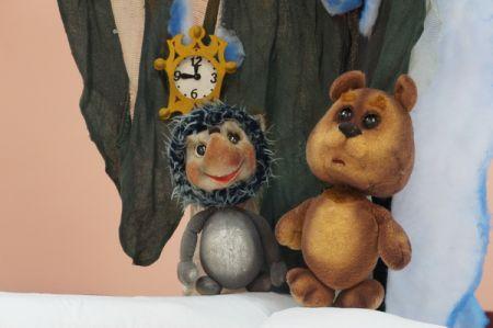 Ёжик и ёлка. Курский театр кукол