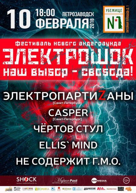 Фестиваль Электрошок 2018